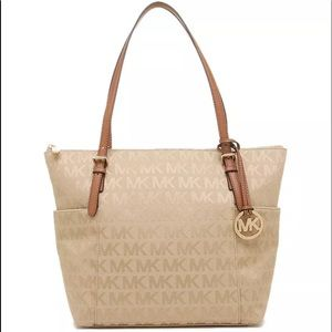 MK Jet Set Top Zip East West Tote
